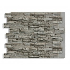 Alpi Panel Stone Wall Ash 36 x 48 - Front