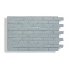 Faux Contempo Brick - Gray