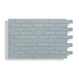 Faux Contempo Brick - Gray