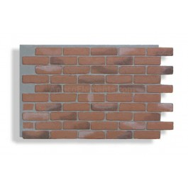Faux Contempo Brick - Chicago Red