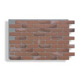 Faux Contempo Brick - Chicago Red