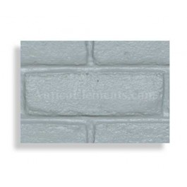 Faux Contempo Brick Sample - Gray - With Rebate - Free US Standard Shipping
