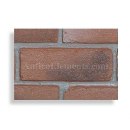 Faux Contempo Brick Sample - Chicago Red - With Rebate - Free US Standard Shipping