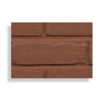 Faux Contempo Brick Sample - Red - With Rebate - Free US Standard Shipping