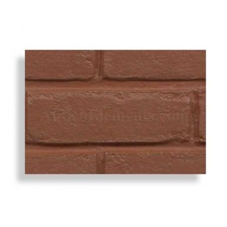Faux Contempo Brick Sample - Red