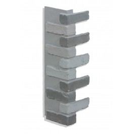 "Corner for 28"" Brick Panels - Storm"