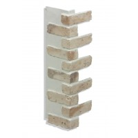 "Corner for 28"" Brick Panels - Tan - CHOOSE A TONE"