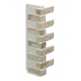 "Corner for 28"" Brick Panels - Tan - Light"