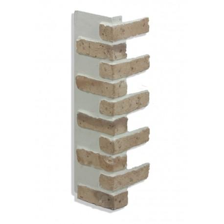 """Corner for 28"""" Brick Panels - Tan - Dark"""