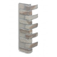 "Corner for 28"" Brick Panels - Ashes"