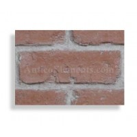"Faux Reclaimed 28"" Panel Brick Sample - Red - With Rebate - READ NOTES BELOW"