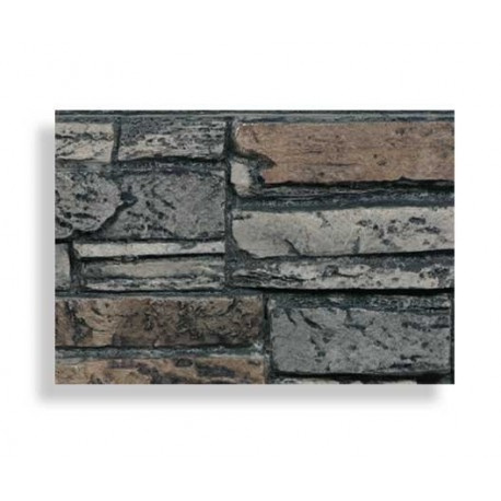 Faux stone sample