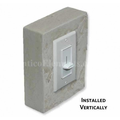 Outlet & Switch Trim For Stone- Storm