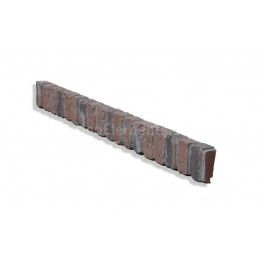 "Ledge Trim For 28"" Brick Panels - Chicago Red - CHOOSE A GROUT COLOR"