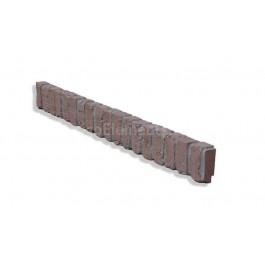 "Ledge Trim For 28"" Brick Panels - Red - LG - Side"