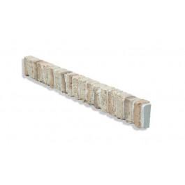 """Ledge Trim For 28"""" Brick Panels - Tan - Light - Side"""
