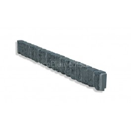 "Ledge Trim For 28"" Brick Panels - Charcoal - Side"
