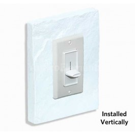 Outlet & Switch Trim - Brick White - Front