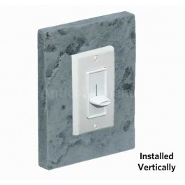 Outlet & Switch Trim - Brick Charcoal - Front