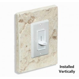 Outlet & Switch Trim - Brick Tan Light - Front