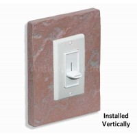 Outlet & Switch Trim - Chicago Red - CHOOSE A GROUT COLOR