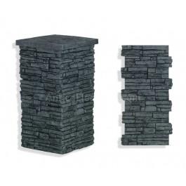 "Laguna Stone Column 19"" Charcoal"
