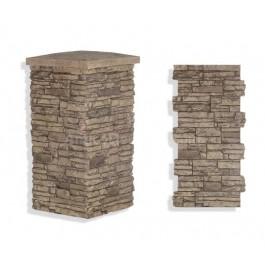 "Laguna Stone Column 19 x 36"" Camel"