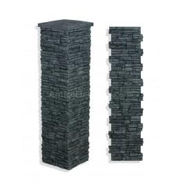 "Laguna Stone Column 19 x 72"" Charcoal"