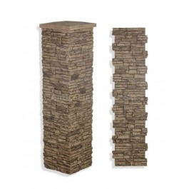 "Laguna Stone Column 19 x 72"" Camel"