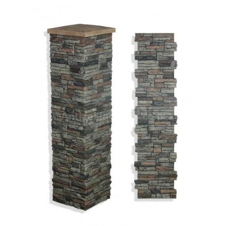 "Laguna Stone Column 19 x 72"" Sedona"