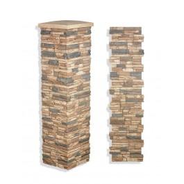 "Laguna Stone Column 19 x 72"" - Mocha"