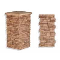 "Laguna Stone Column 19 x 36"" Clay"