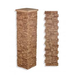 "Laguna Stone Column 19 x 72"" Clay"