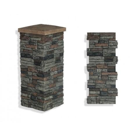 "Laguna Stone Column 15 x 36"" Sedona"