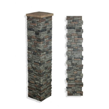"Laguna Stone Column 15 x 72"" Sedona"
