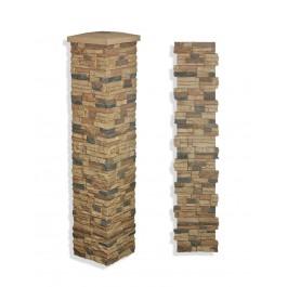 "Laguna Stone Column 15 x 72"" Cappuccino"