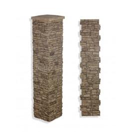 "Laguna Stone Column 15 x 72"" Camel"