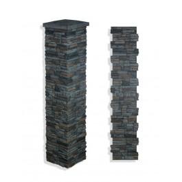 """Laguna Stone Column 15 x 72"""" Graphite"""