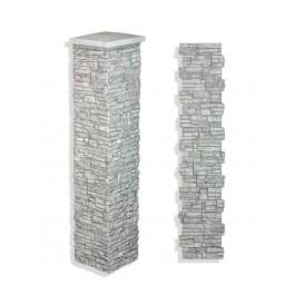 """Laguna Stone Column 15 x 72"""" Glacier"""