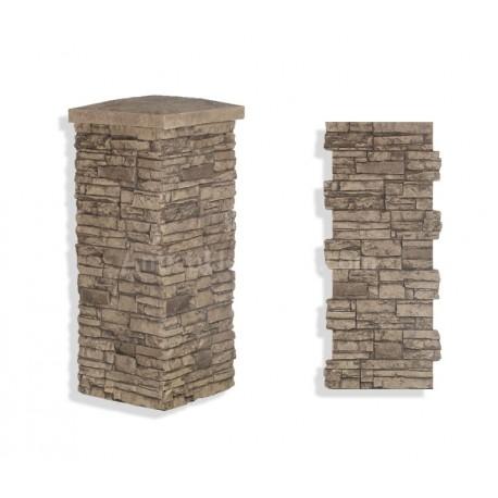 "Laguna Stone Column 15 x 36"" Camel"