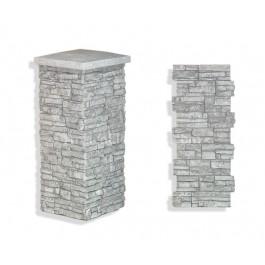 """Laguna Stone Column 15 x 36"""" Glacier"""