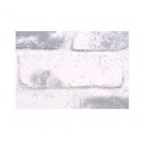 "Faux Reclaimed Brick 28"" Sample - Gray-Whitewash - With Rebate - Free Standard Shipping"
