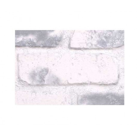 "Faux Chicago Brick 28"" Panel Sample - Gray-Whitewash - With Rebate - Free Standard Shipping"