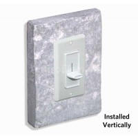 Outlet & Switch Trim - Gray-Whitewash