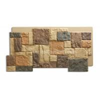 Castello Panel Faux Stone Siding Sand