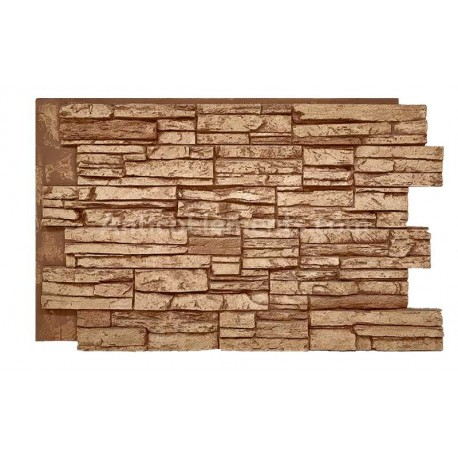 Laguna Faux Stacked Stone - Clay