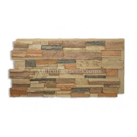 Romana Panel - Stone Veneer - Sand