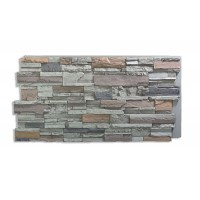 Romana Panel Faux Rock - Gray