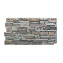 Romana Panel - Faux Rock - Gray