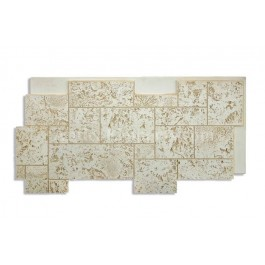 Coral Stone Panel - Bleached